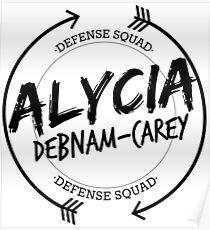 ALYCIA DEBNAM CAREY DEFENSE SQUAD Poster