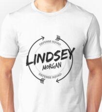 LINDSEY MORGAN DEFENSE SQUAD Unisex T-Shirt