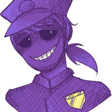 Purple Guy - FNAF by JokersToxin