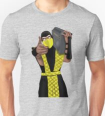 GET OVER HERE AND LISTEN TO THESE DOPE BEATS Slim Fit T-Shirt