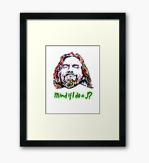 The Dude Framed Print