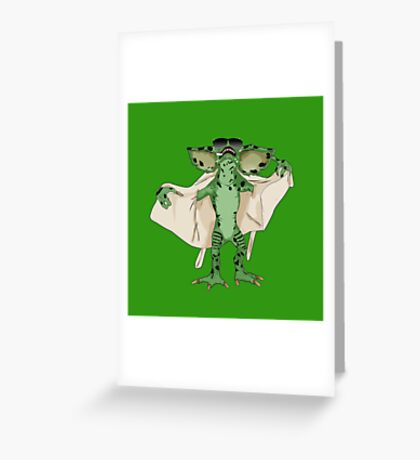 Gremlin Flasher Greeting Card
