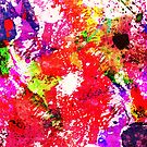 Expression Of Colour - Abstract In Rainbow Colours by Printpix
