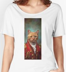Court General Wise Cat  Women's Relaxed Fit T-Shirt