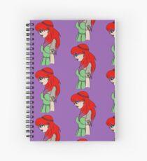 Red Head Spiral Notebook