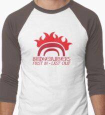 BRIDGEBURNERS BRIDGE BURNERS (new) fan art FIRST IN LAST OUT medieval T-Shirt