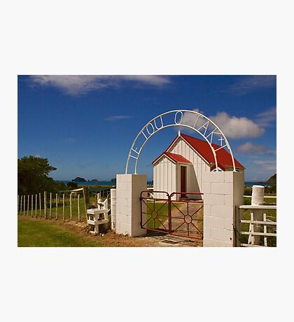 New Zealand Country Church Photographic Print