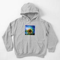 Sunflower Lover - Sunflower Art Photography Kids Pullover Hoodie