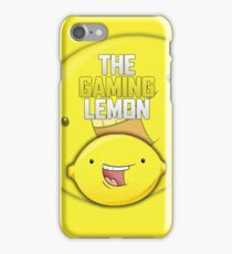 The Gaming Lemon iPhone Case/Skin