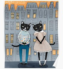Cats First Date Poster