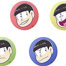 Circle of Osomatsu by RileyOMalley