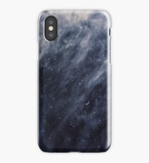 Blue Clouds, Blue Moon iPhone Case/Skin