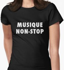 MUSIQUE NON-STOP Women's Fitted T-Shirt