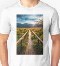 Boardwalk, October in Washington, Pacific Northwest T-Shirt