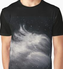 Moon and Clouds Graphic T-Shirt