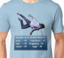 Tricking Stats - Pixel Dude version Unisex T-Shirt
