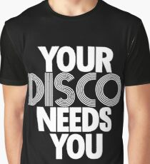 Kylie Minogue - Your Disco Needs You (white text) Graphic T-Shirt