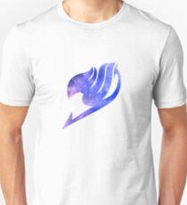 Galaxy Fairy Tail Logo Design Unisex T-Shirt