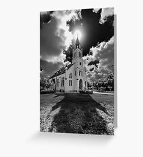 Painted Churches of Schulenburg, Texas Greeting Card