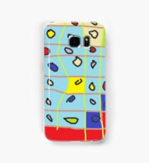 cakes abstract Samsung Galaxy Case/Skin