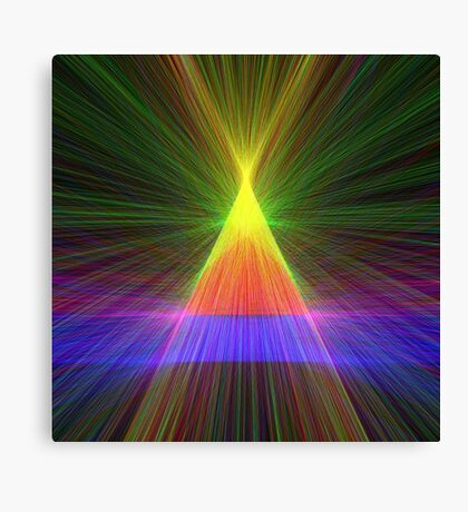 Linify Linify Light Tower, Pyramid Canvas Print