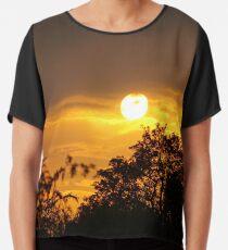 Perfect Sunset Chiffon Top