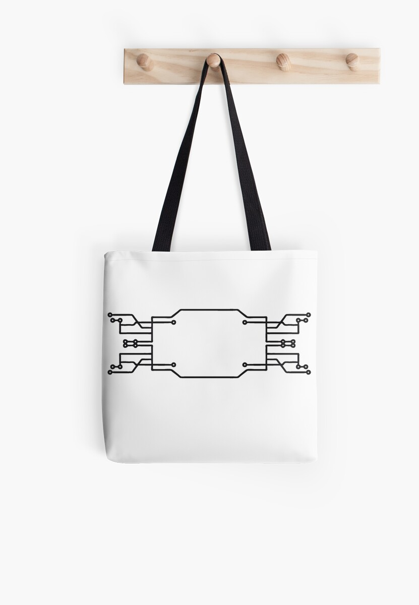 Bolsas de tela «tecnología electrónica de conexión de línea ...