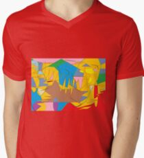 Full-color abstract scribble background T-Shirt