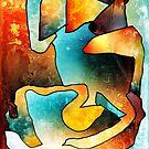 Sand Dance. Modern Abstract Art. by Mr Dodd