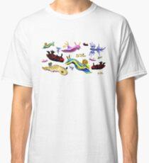 Slugs, slug, everywhere sea slugs Classic T-Shirt