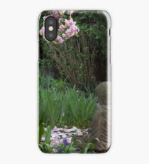 Buddha amongst the Rhododendrons (horizontal) iPhone Case/Skin