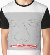 Worried and sad face Graphic T-Shirt