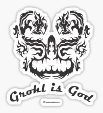 Grohl is God Sticker