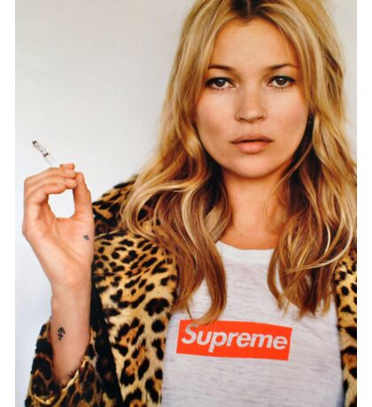 Kate Moss Sticker Sticker