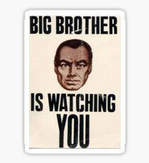 Big Brother is Watching You - 1984 Orwell Sticker