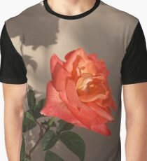 Rose Shadow Graphic T-Shirt