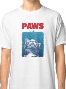 Crazy Cat Meow Paws  Classic T-Shirt