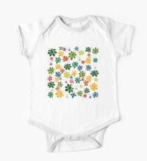Colorful fig tree pattern One Piece - Short Sleeve