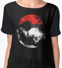 Pokeball Women's Chiffon Top