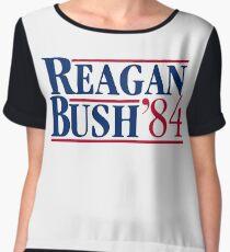 Reagan Bush Women's Chiffon Top