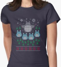 My Neighbour's Totoro Women's Fitted T-Shirt