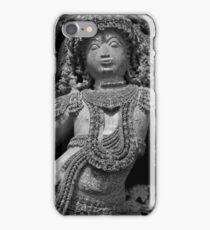 Sculpture, Halebid, India iPhone Case/Skin