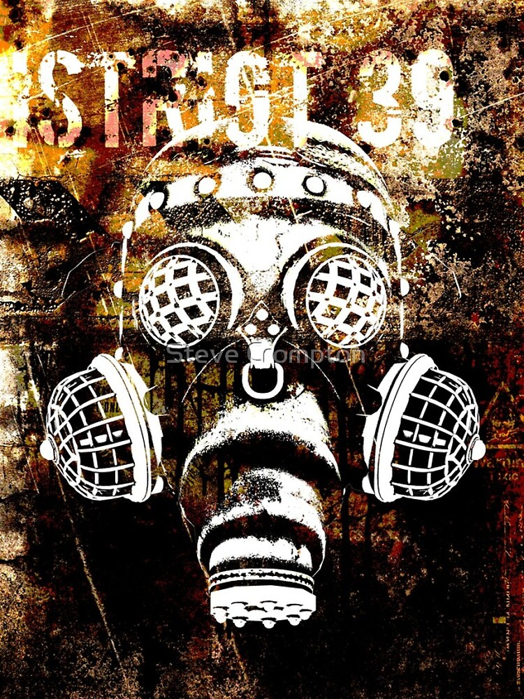 Another Steampunk / Cyberpunk Gas Mask by SC001