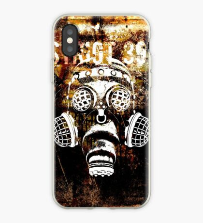 Another Steampunk / Cyberpunk Gas Mask iPhone Case