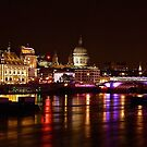 St Pauls At Night  by andonsea