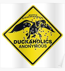Duckaholics Anonymous Poster