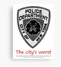 The City's Worst Canvas Print