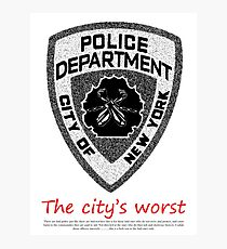 The City's Worst Photographic Print