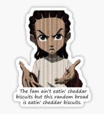 Cheddar Bisquits Sticker