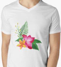 Summer watercolor beautiful tropical flower T-Shirt